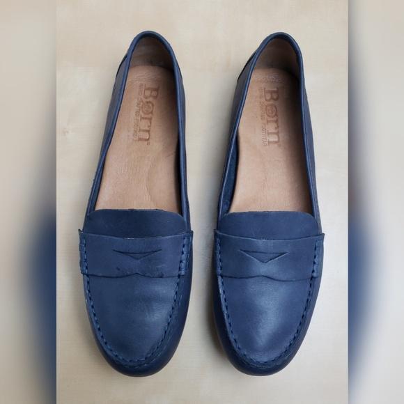 Born Shoes | Born Malena Navy Leather